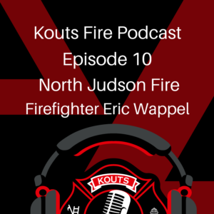 North Judson Firefighter Eric Wappel